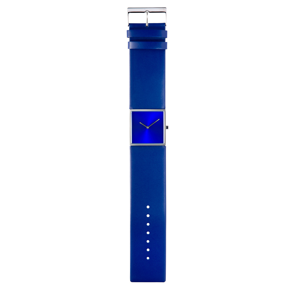 Design collection blauw horloge