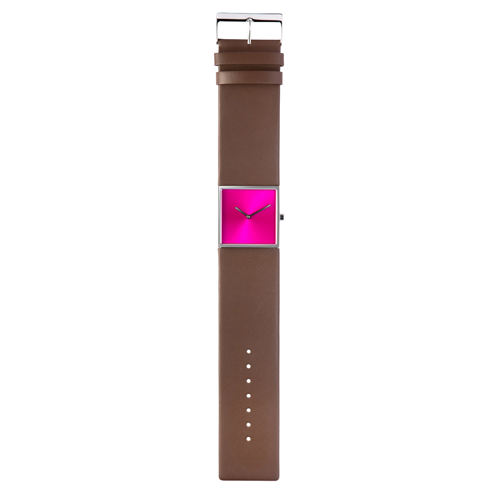 Design collection roze horloge